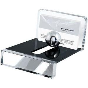Wedo 601401 60 1401 Acryl Exklusiv Visitenkartenhalter Acryl Glasklar Mit Kugel